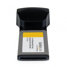 StarTech.com Scheda adattatore seriale DB9 ExpressCard a 1 porta a RS232 con 16950 UART - Basata su USB