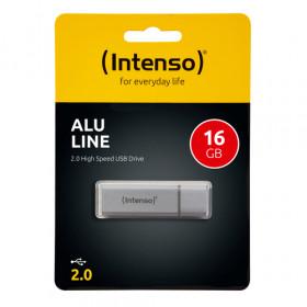 Intenso Alu Line unità flash USB 16 GB USB tipo A 2.0 Argento