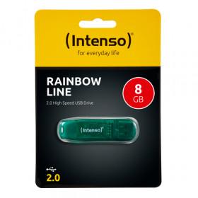 Intenso Rainbow Line unità flash USB 8 GB USB tipo A 2.0 Verde