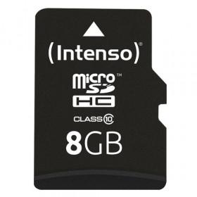 Intenso 8GB MicroSDHC memoria flash Classe 10