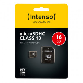 Intenso 16GB MicroSDHC memoria flash Classe 10