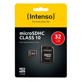 Intenso 32GB MicroSDHC memoria flash Classe 10