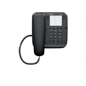 Gigaset DA410 Telefono analogico Nero