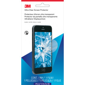 3M Pellicola protettiva Ultra Clear per Apple(R) iPhone(R) 5/5S/5C/SE