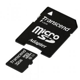 Transcend 32GB microSDHC Class 10 UHS-I 32GB MicroSDHC Classe 10 memoria flash