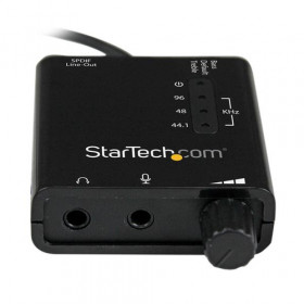 StarTech.com Scheda audio esterna adattatore audio stereo USB con audio digitale SPDIF