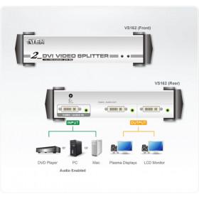 Aten VS162 ripartitore video DVI 2x DVI