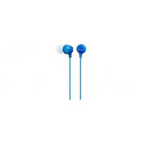 Sony MDR-EX15AP Auricolare Stereofonico Cablato Blu auricolare per telefono cellulare
