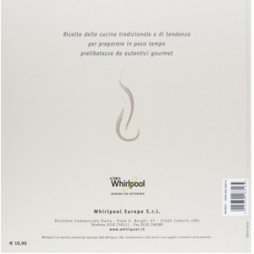 Whirlpool MCB001 libro e scheda per ricette