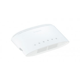 D-Link DGS-1005D/E switch di rete Non gestito L2 Gigabit Ethernet (10/100/1000) Bianco