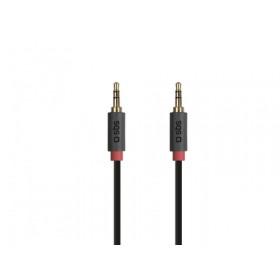 SBS TECABLE35KR cavo audio 1,5 m 3.5mm Nero