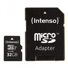 Intenso 3433480 memoria flash 32 GB MicroSDHC Classe 10 UHS-I