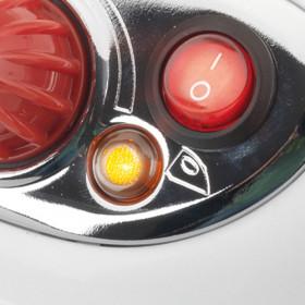 Girmi SS01 800 W 0,7 L Alluminio Rosso, Bianco
