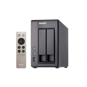 QNAP TS-251+ Collegamento ethernet LAN Torre Grigio NAS