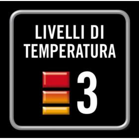 Imetec Living Air M2-100 Stufetta con elettroventola Interno Arancione, Bianco 2200 W