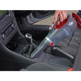 Black & Decker ADV1200 aspiratore portatile Senza sacchetto Grigio, Rosso