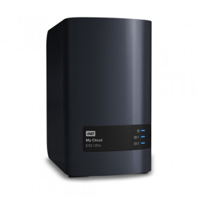 Western Digital My Cloud EX2 Ultra Collegamento ethernet LAN Scrivania Nero NAS