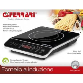 G3 Ferrari G10061 piano cottura Da tavolo A induzione Nero