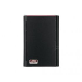 Buffalo LinkStation 520 RTD1195N Collegamento ethernet LAN Compatta Nero NAS