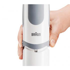 Braun MQ 5000 WH Soup frullatore Frullatore ad immersione Grigio, Bianco 750 W