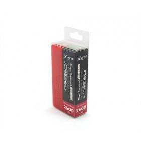 XLayer Colour Line Red 2.600 Polimeri di litio (LiPo) 2600mAh Rosso batt