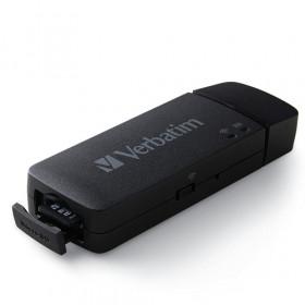 Verbatim MediaShare Mini lettore di schede Nero USB 2.0/Wi-Fi