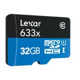 Lexar LSDMI32GBBEU633A memoria flash 32 GB MicroSDHC Classe 10 UHS-I