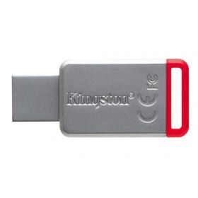 Kingston Technology 50 32GB unità flash USB USB tipo A 3.0 (3.1 Gen 1) Rosso, Argento