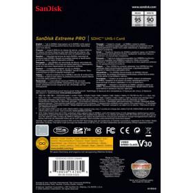 Sandisk Extreme Pro memoria flash 32 GB SDHC Classe 10 UHS-I