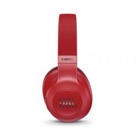 JBL E55BT auricolare per telefono cellulare Stereofonico Padiglione auricolare Rosso Cablato