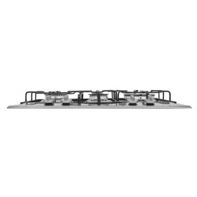 Hotpoint PCN 642 T/IX/HAR piano cottura Acciaio inossidabile Da incasso 60 cm Gas 4 Fornello(i)