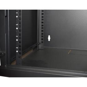 Link Accessori LK1907UN rack 50 kg Da parete 6U Nero