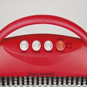 G3 Ferrari G60006 Interno Nero, Rosso 1200W Stufetta elettrica alogena stufetta elettrica