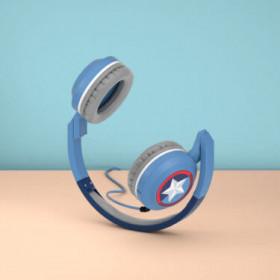Tribe Cuffie con microfono Pop Captain America