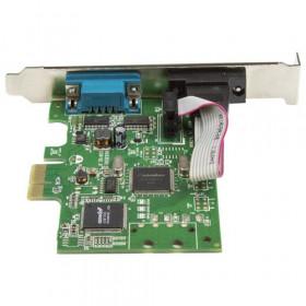 StarTech.com Scheda Seriale PCI Express da 2 porte DB9 con UART 16C1050 - RS232