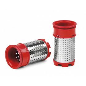 Girmi GT01 Plastica Rosso, Bianco grattugia elettrica