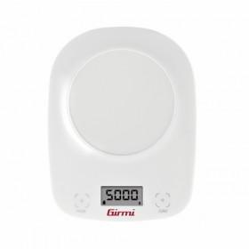 Girmi PS01 Bilancia da cucina elettronica Bianco Da tavolo Rotondo