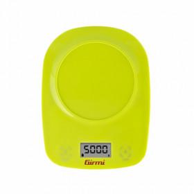 Girmi PS01 Bilancia da cucina elettronica Verde Da tavolo Rotondo
