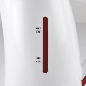 Girmi BL02 bollitore elettrico 0,5 L Rosso, Bianco 1100 W