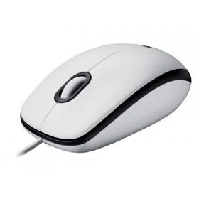 Logitech M100 USB Ottico 1000DPI Ambidestro Bianco mouse
