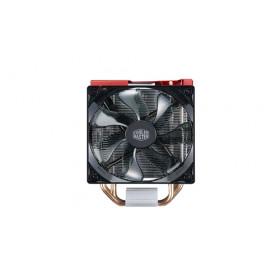 Cooler Master Hyper 212 LED Turbo Processore Refrigeratore 12 cm Nero, Rosso