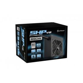 Sharkoon SHP V2 650W 80+ PFC Attivo ATX