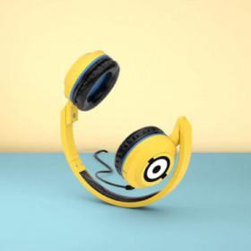 Tribe HPW12100 headphones/headset Cuffia Padiglione auricolare Giallo