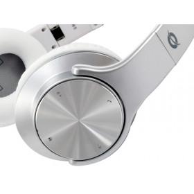 Conceptronic CHSPBTNFCSPKS auricolare per telefono cellulare Stereofonico Padiglione auricolare Argento, Bianco Con cavo e senza cavo