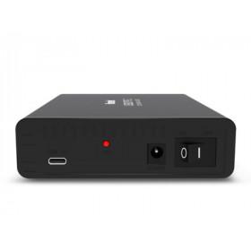 Hamlet Box esterno USB 3.0 per Hard Disk SATA 2,5 velocità di trasferimento fino a 5Gbps