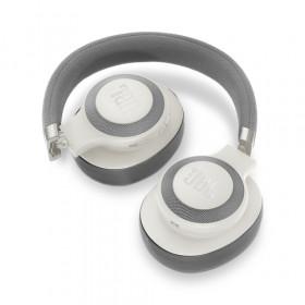 JBL E65BTNC auricolare per telefono cellulare Stereofonico Padiglione auricolare Bianco Con cavo e senza cavo