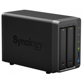 Synology DiskStation DS718+ server NAS e di archiviazione J3455 Collegamento ethernet LAN Desktop Nero