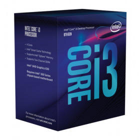 Intel Core i3-8100 processore 3.6 GHz Scatola 6 MB Smart Cache