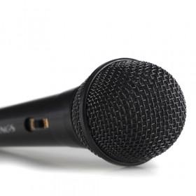 NGS Singer Fire Karaoke microphone Nero