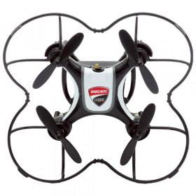 Dromocopter Ducati Corse drone fotocamera Nero 4 rotori 120 mAh